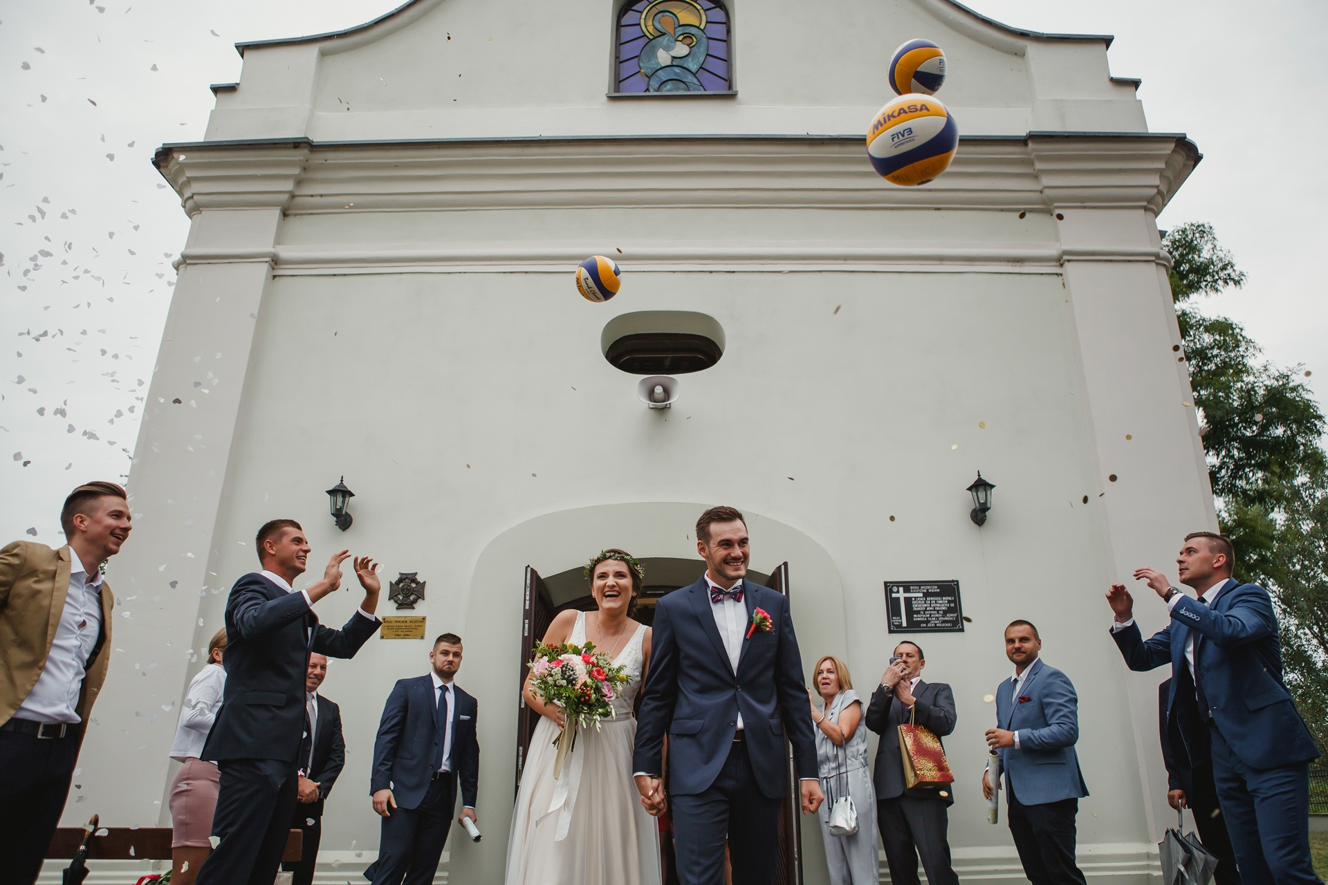 kolorowe wesele boho mielec