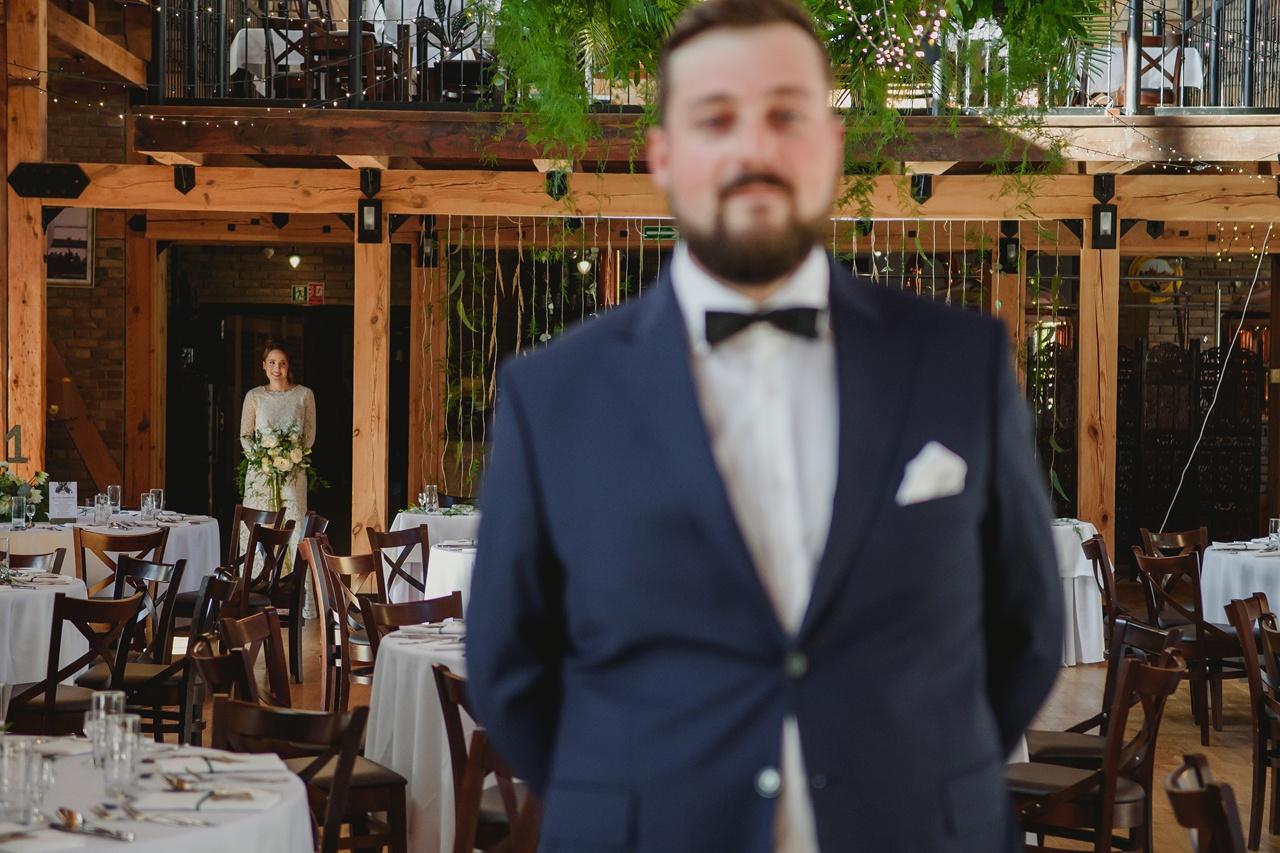 first look w dniu ślubu
