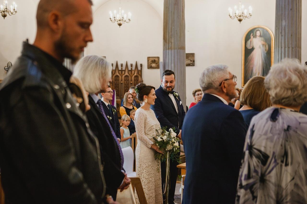 reportaż ślubny kościół wnmp w puławach