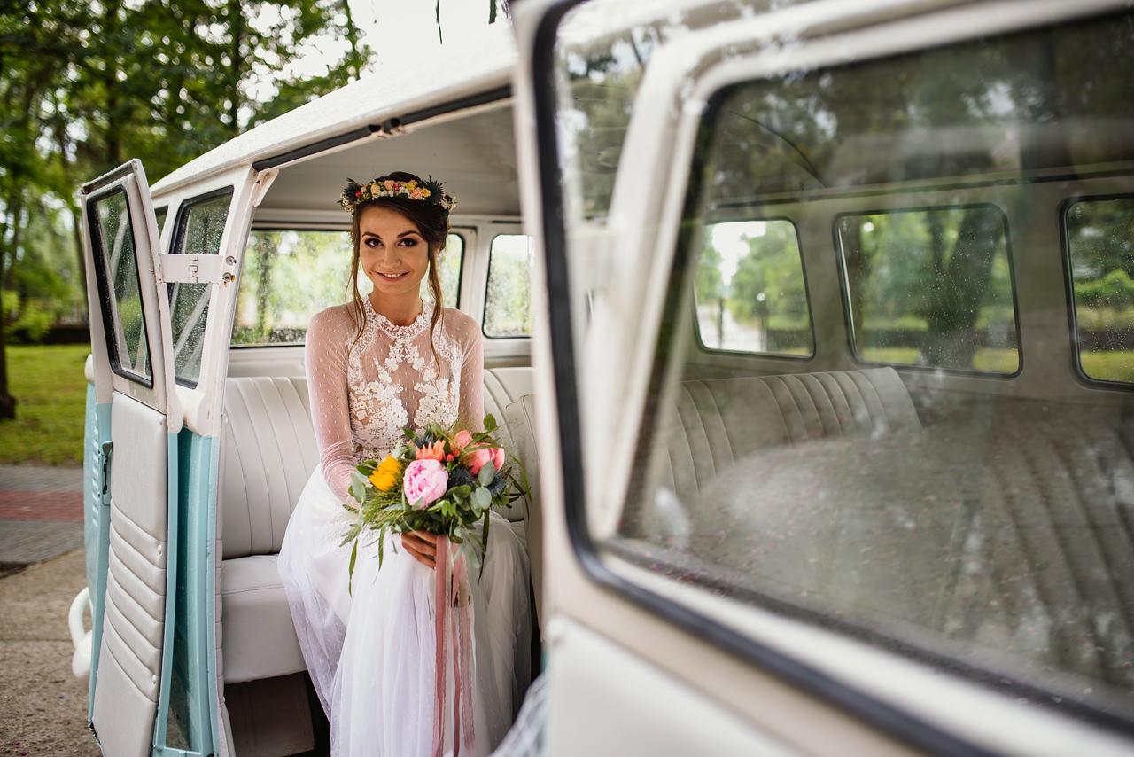 styl rustykalny wesele